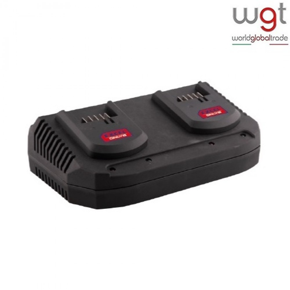 CARICA BATTERIE DOPPIO ONLY1 EXCEL volt 18 A 2x3,5