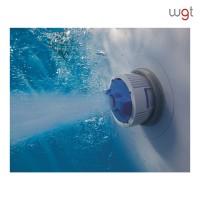 PISCINA RETTANGOLARE POWER STEEL COMPLETA cm.732x366x132h. - lt.30045 - Pompa a sabbia - peso Kg.173,6
